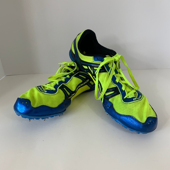 finest selection c8c07 ded73 Brooks Running shoes cleats size 10 mens